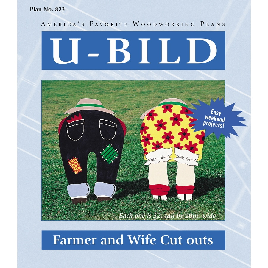 U-Bild Farmer and Wife Cutouts Woodworking Plan