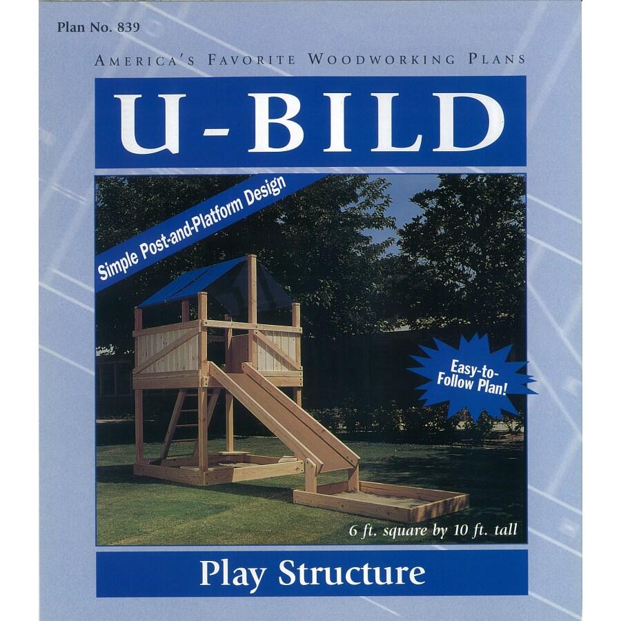 U-Bild Play Structure Woodworking Plan