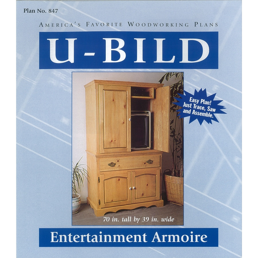 U-Bild Entertainment Armoire Woodworking Plan