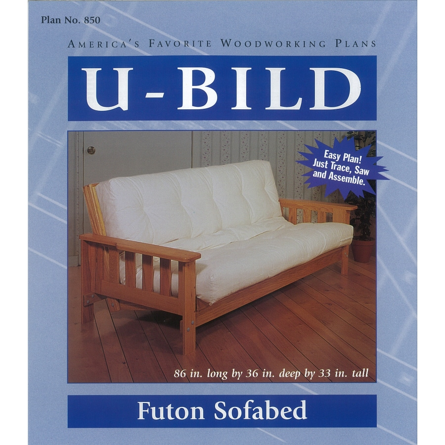 U-Bild Futon Sofabed Woodworking Plan