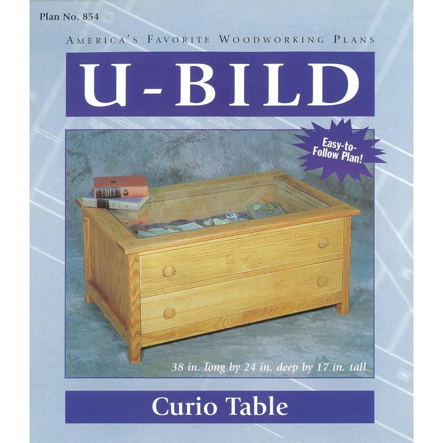 U-Bild Curio Table Woodworking Plan