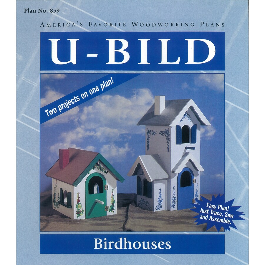 U-Bild Birdhouses Woodworking Plan