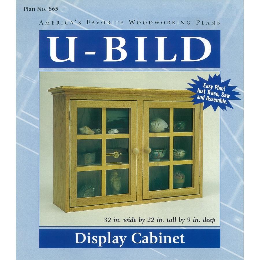 U-Bild Display Cabinet Woodworking Plan