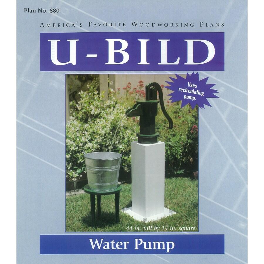 U-Bild Water Pump Woodworking Plan