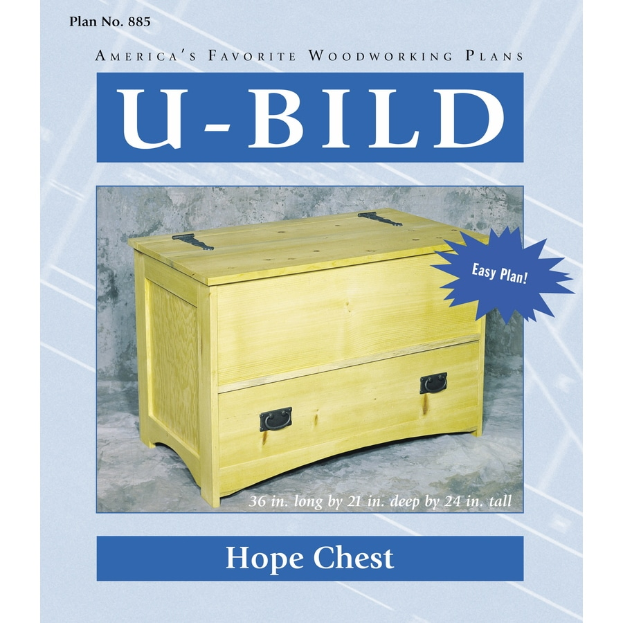 Shop u bild hope chest woodworking plan at for Hope chest plans pdf