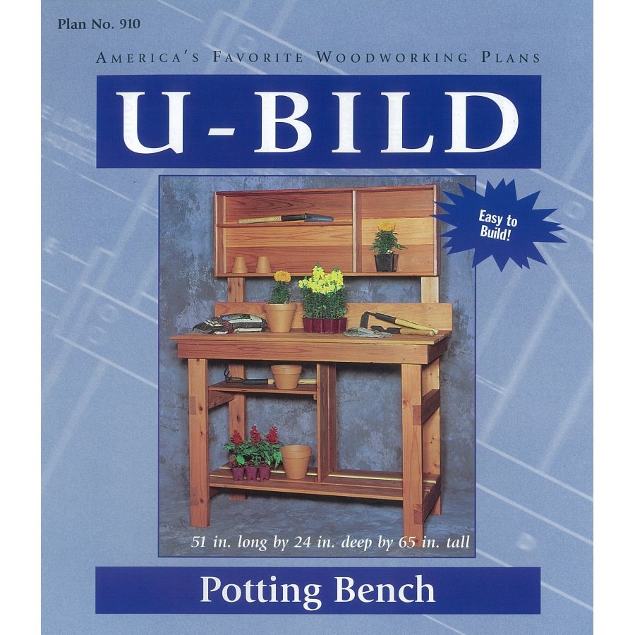 U-Bild Potting Bench Woodworking Plan