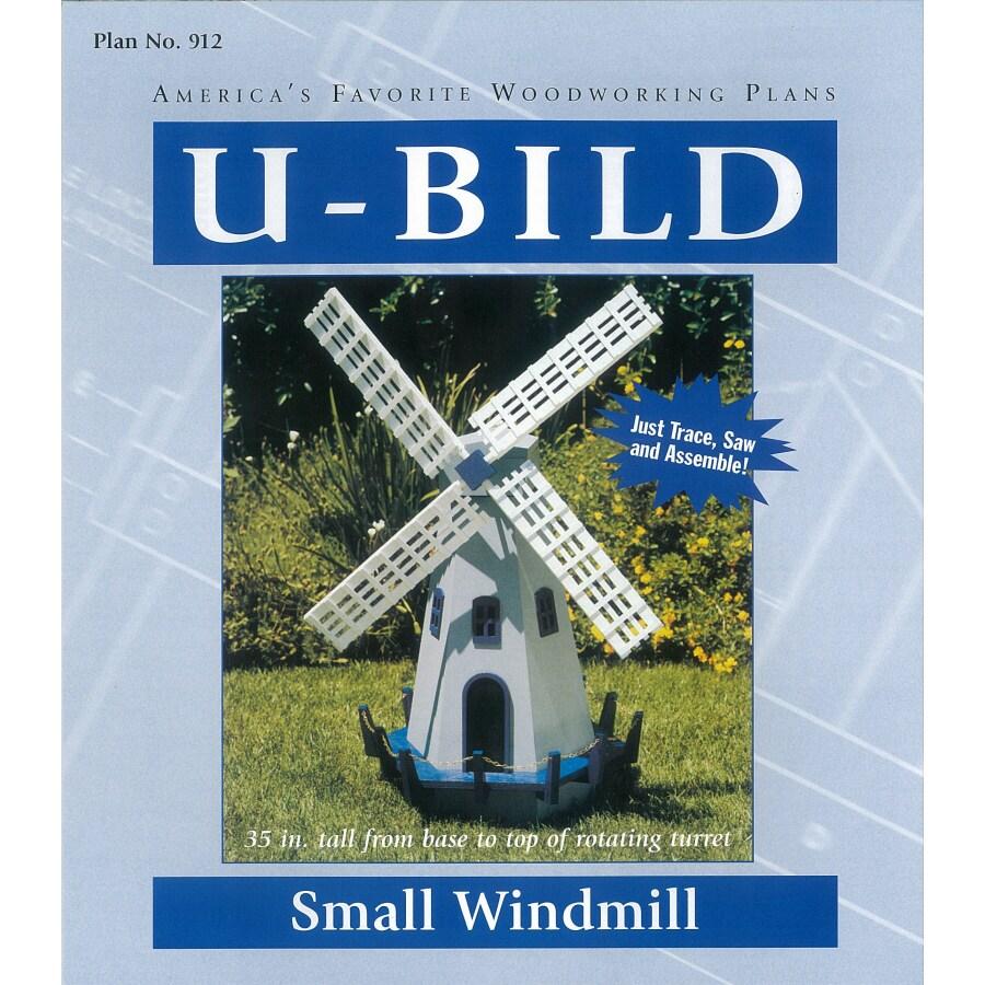 U-Bild Windmill Woodworking Plan