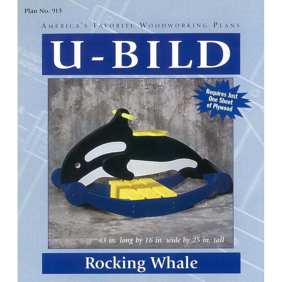 U-Bild Rocking Whale Woodworking Plan