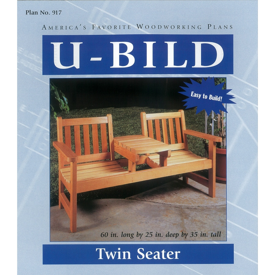 U-Bild Twin Seater Woodworking Plan