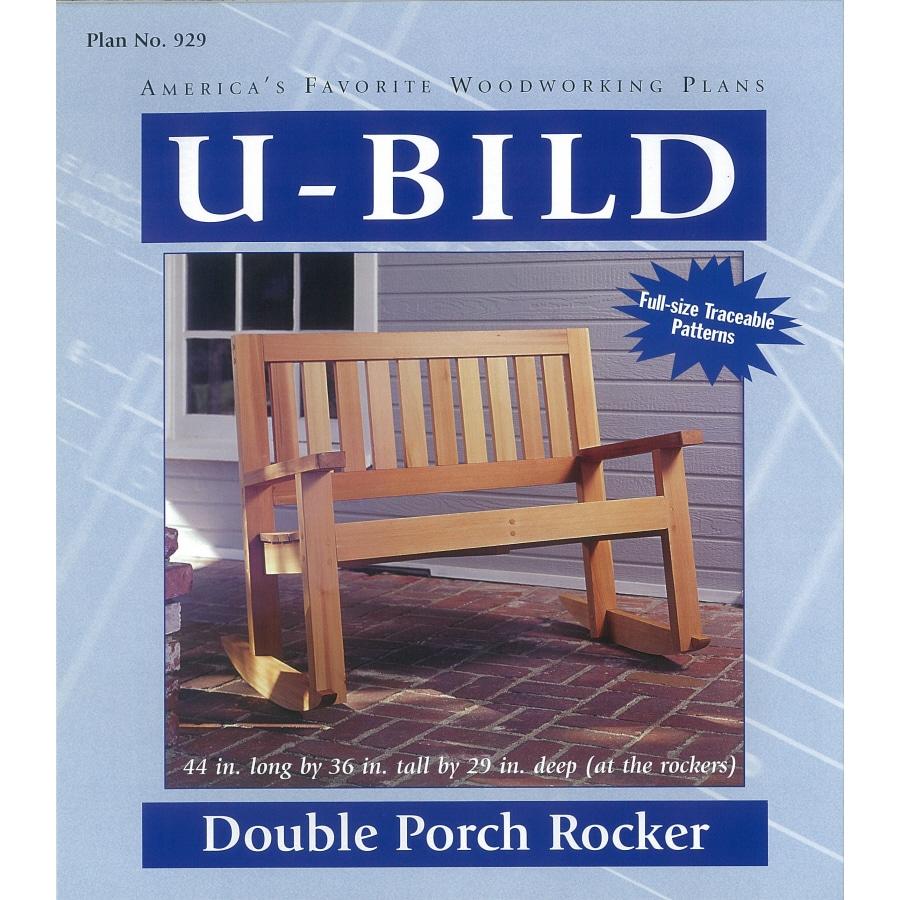 U-Bild Double Porch Rocker Woodworking Plan