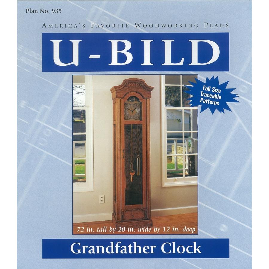 U-Bild Grandfather Clock Woodworking Plan