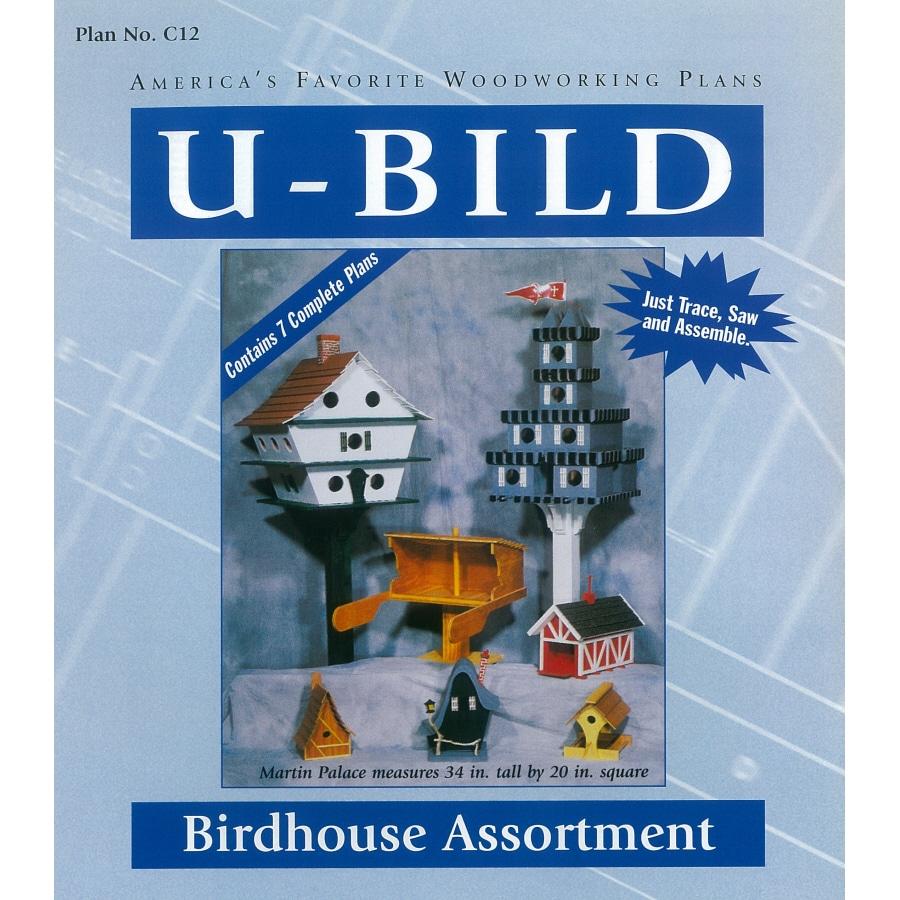 U-Bild Birdhouse Assortment Woodworking Plan