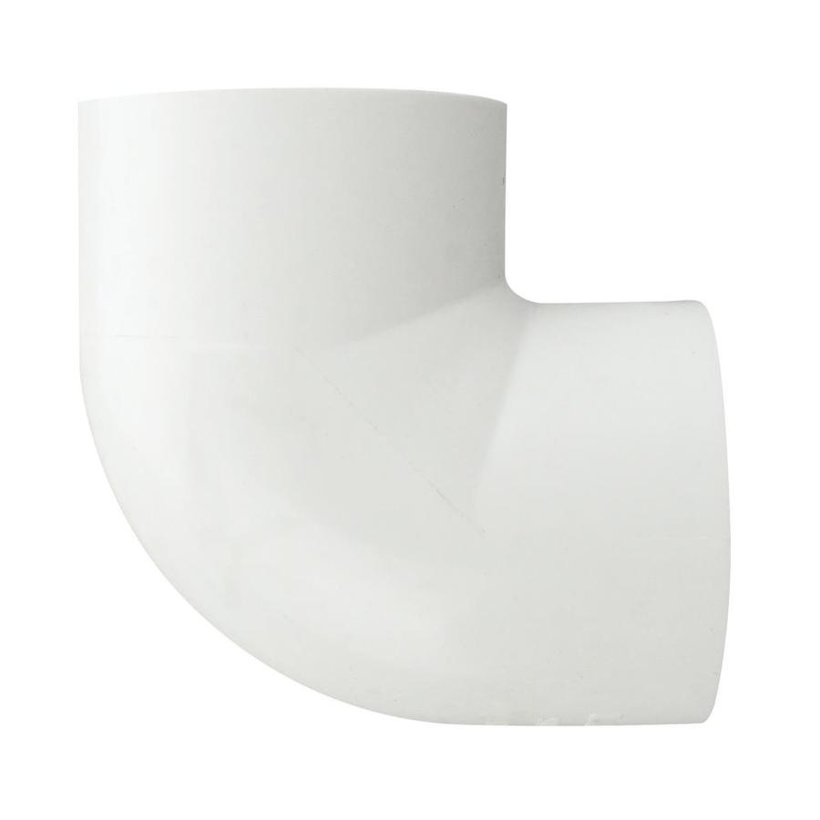 LASCO 1/2-in Dia 90-Degree PVC Sch 40 Slip Elbow