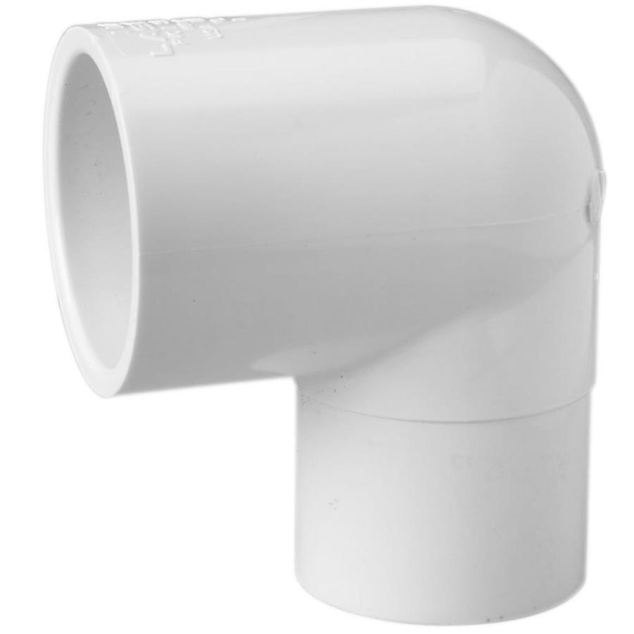 LASCO 1-1/2-in Dia 90-Degree PVC Sch 40 Slip Elbow