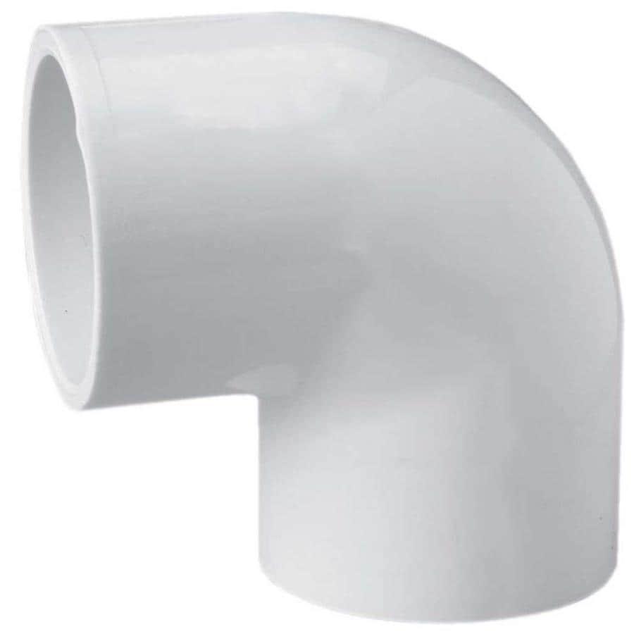 LASCO 2-in Dia 90-Degree PVC Sch 40 Slip Elbow