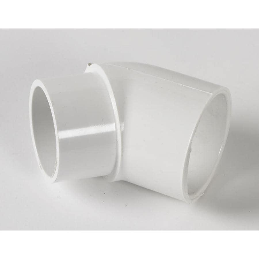 LASCO 2-in Dia 45-Degree PVC Sch 40 Slip Elbow