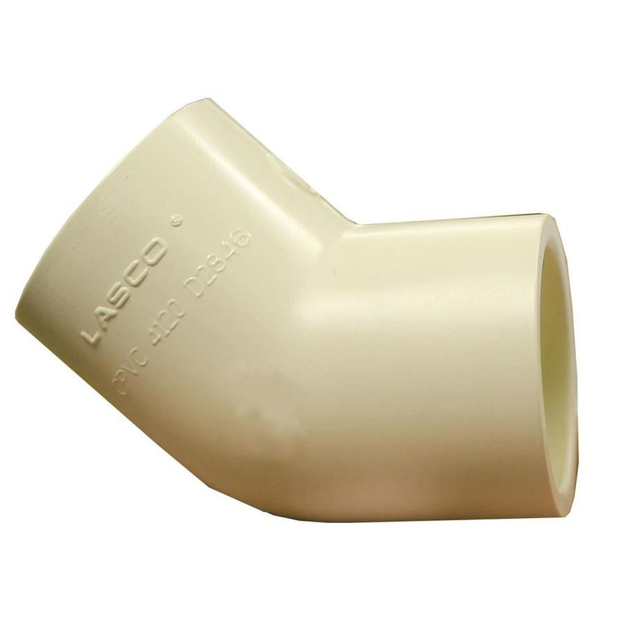 LASCO 1/2-in Dia 45-Degree Elbow CPVC Fitting
