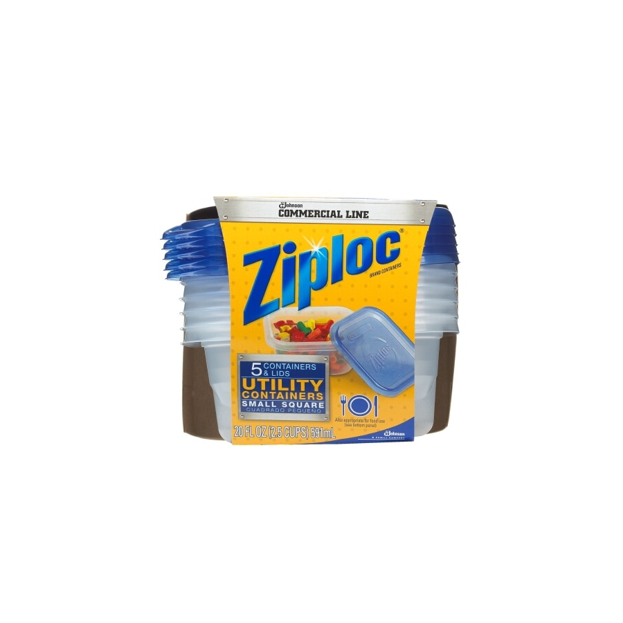 Ziploc 5-Count Small Utility Containers