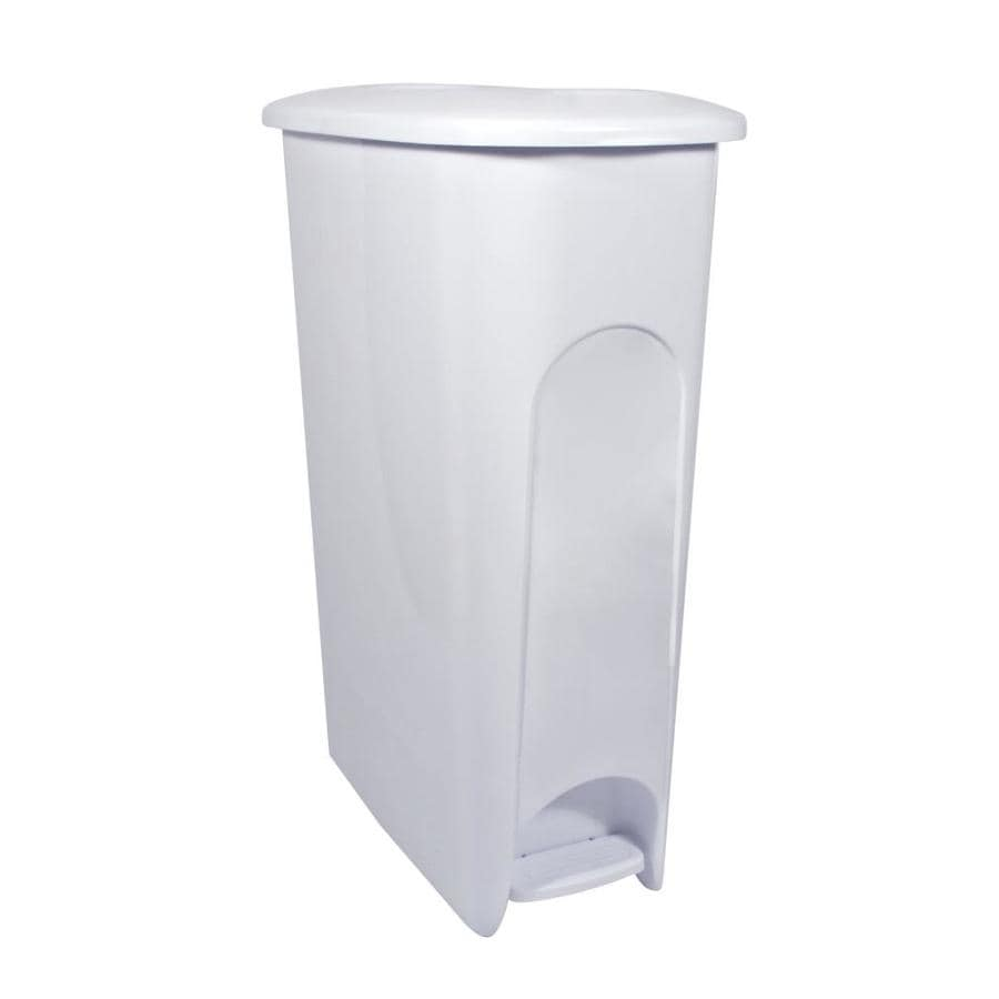 Hefty White Wastebasket
