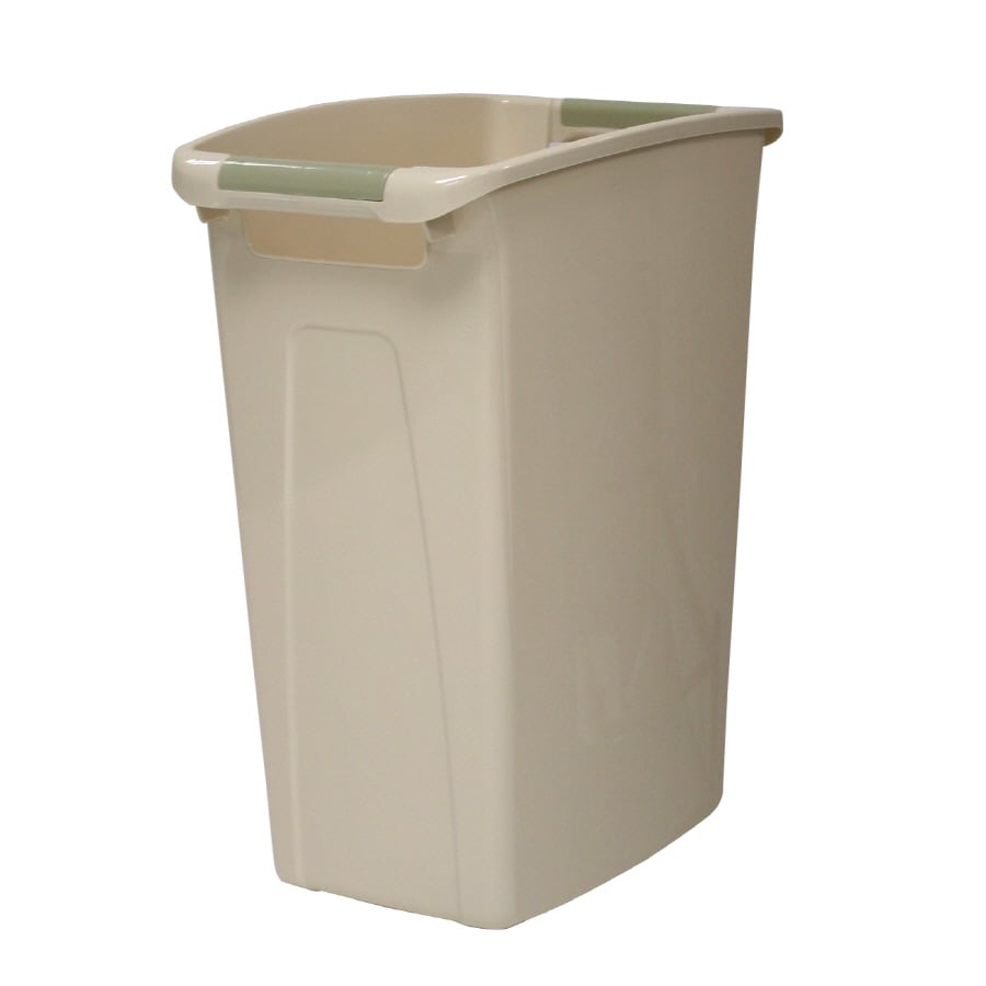 Hefty Tan Wastebasket