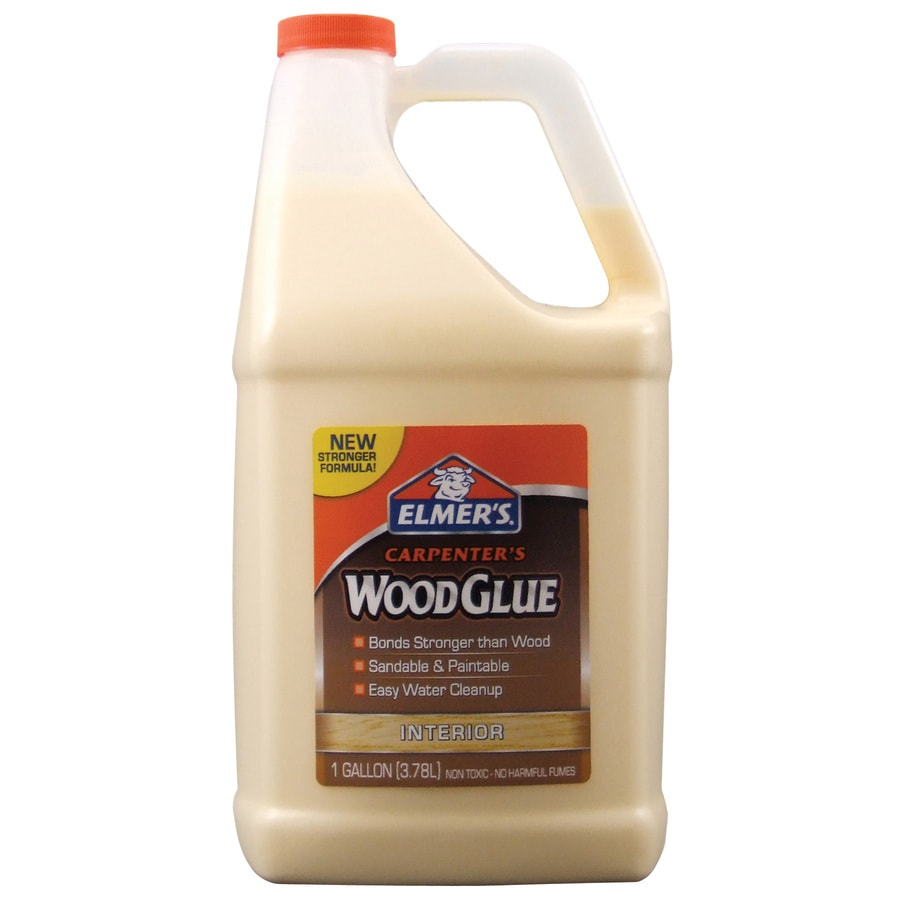 Elmer's Carpenter's 128-oz Wood Glue Adhesive