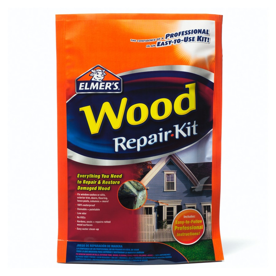 Travertine Repair Kit Lowe S : Shop elmer s oz rotted wood repair kit at lowes