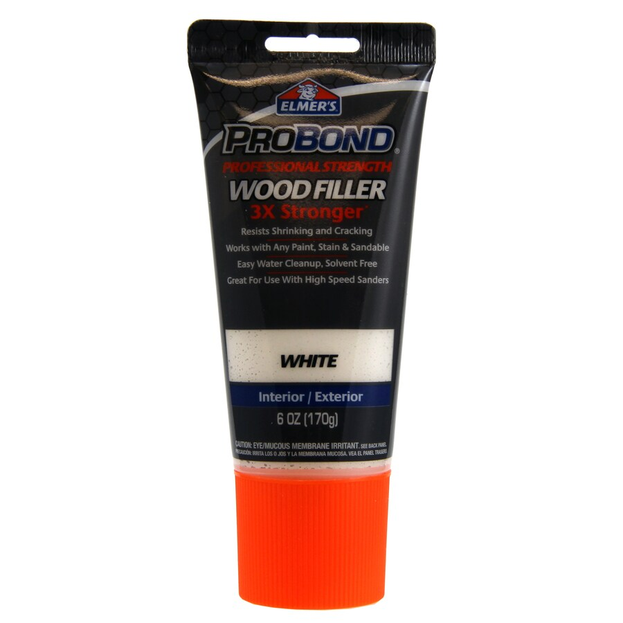 Shop Elmer 39 S 6 Oz Probond Wood Filler White At