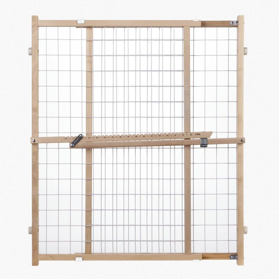 North States Industries, Inc. 50-in x 32-in Natural Wood Child Safety Gate