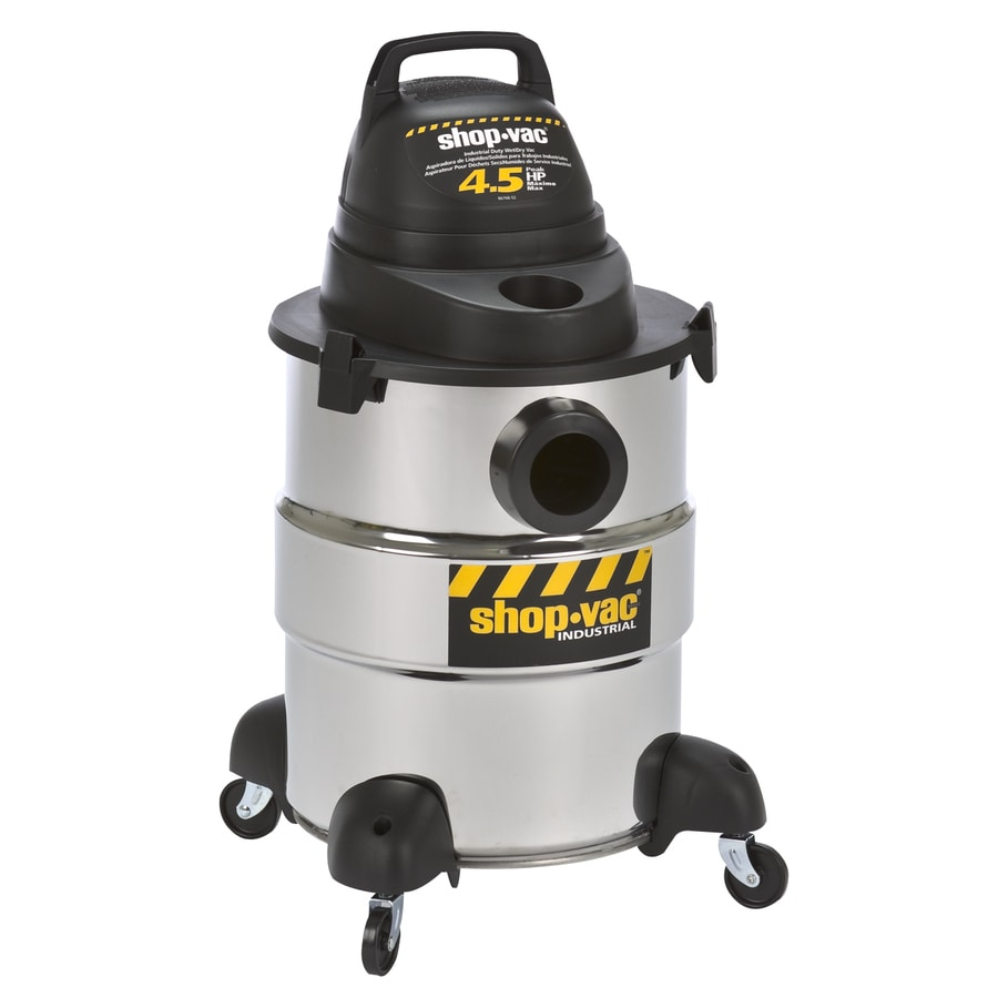 Shop Shop Vac 6 Gallon 4 5 Peak Hp Shop Vacuum At Lowes Com