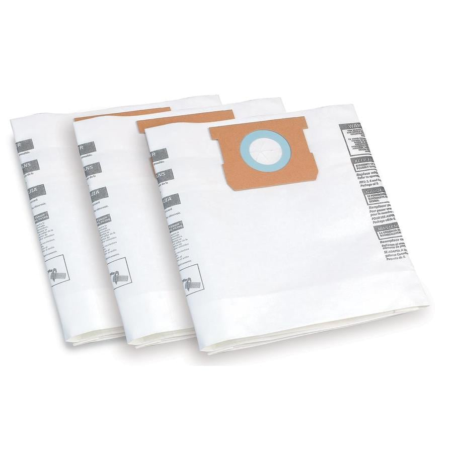 Shop-Vac 3-Pack 8-Gallon Disposable Collection Bags