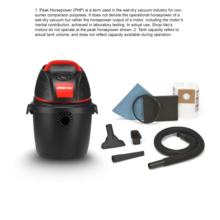Shop Shop Vac 25 Gallon 25 Peak HP Shop Vacuum At Lowes