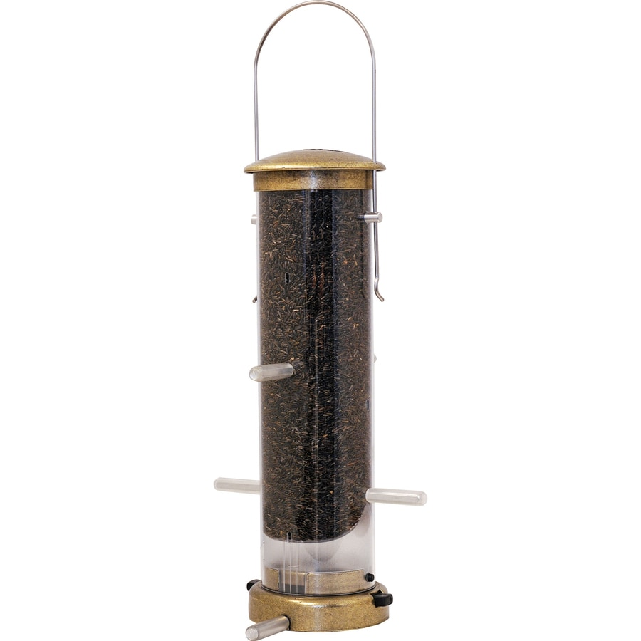 Aspects Nyjer Small Plastic Tube Bird Feeder