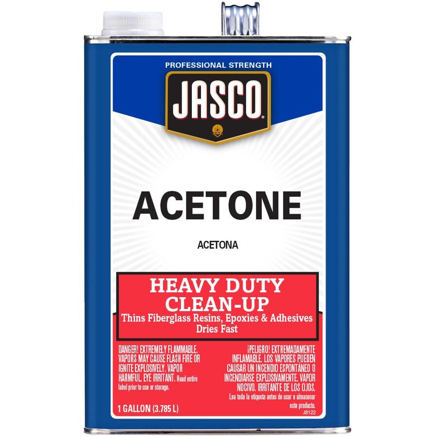 Jasco Gallon Size Can Fast to Dissolve Acetone (Actual Net Contents: 128-fl oz)