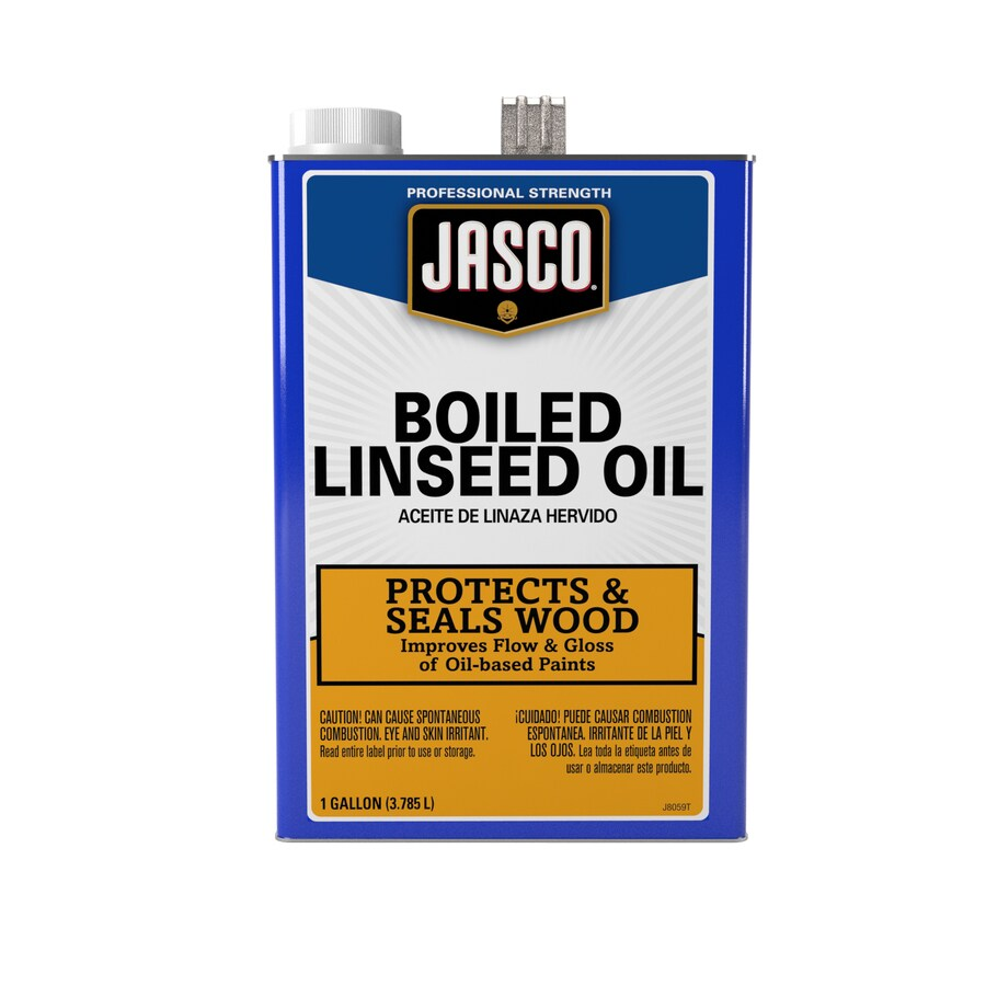 Jasco Gallon Size Can Slow to Dissolve Linseed Oil (Actual Net Contents: 128-fl oz)