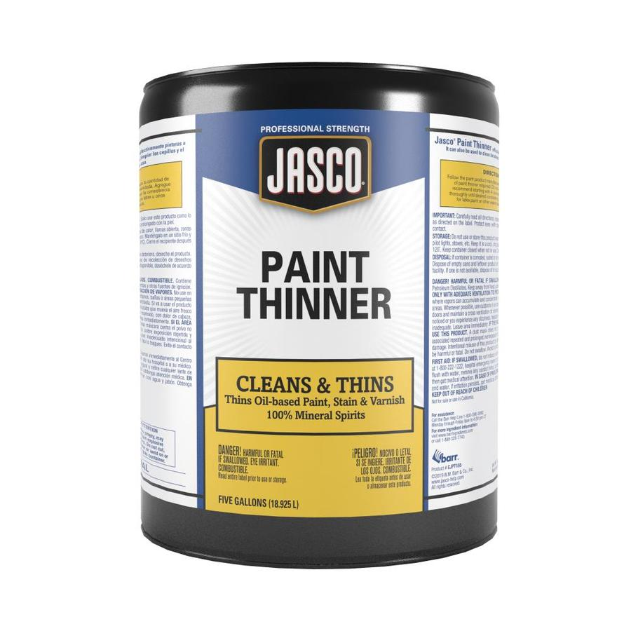 Jasco 5-Gallon Size Can Fast to Dissolve Paint Thinner (Actual Net Contents: 640-fl oz)
