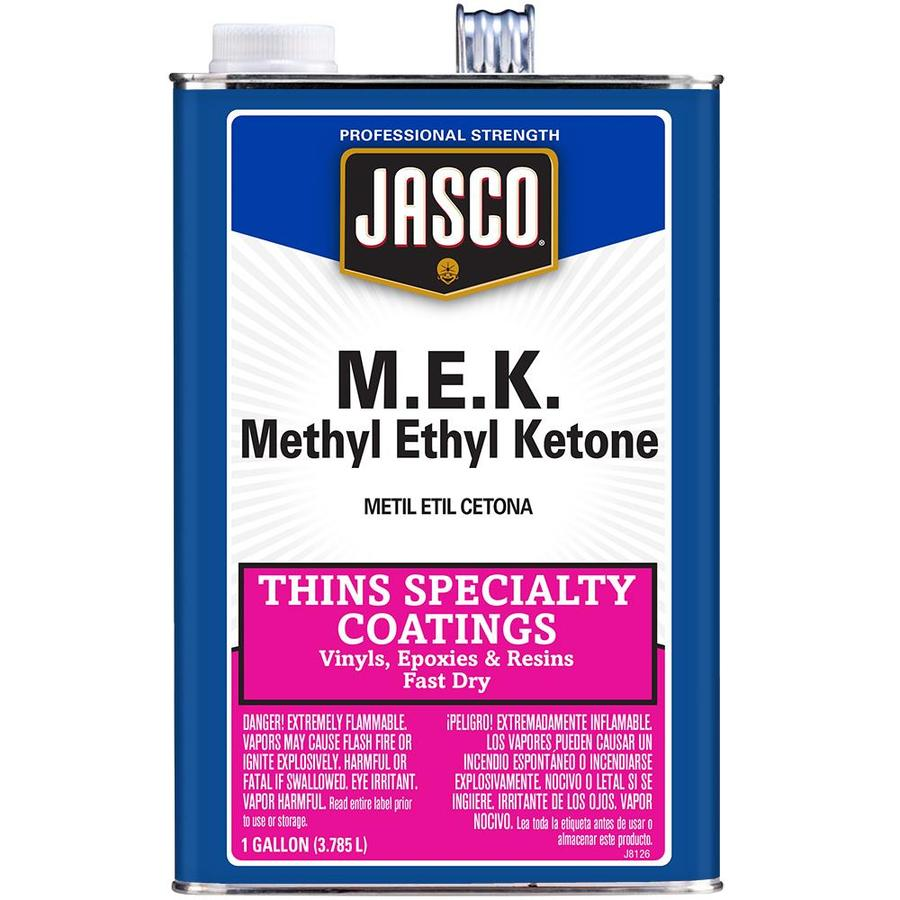 Jasco Gallon Size Can Fast to Dissolve Methyl Ethyl Ketone (MEK) (Actual Net Contents: 128-fl oz)