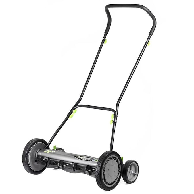 Earthwise 20 In Reel Lawn Mower with Trailing Wheels in