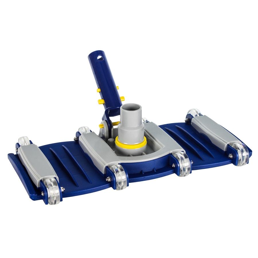 Aqua EZ 14-in Flexible Swivel-Handle Pool Vacuum Head with Wheels