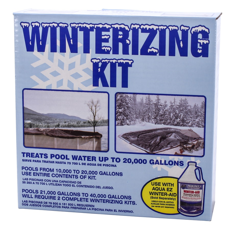 Aqua EZ 3-Piece Pool Winterizing Kit