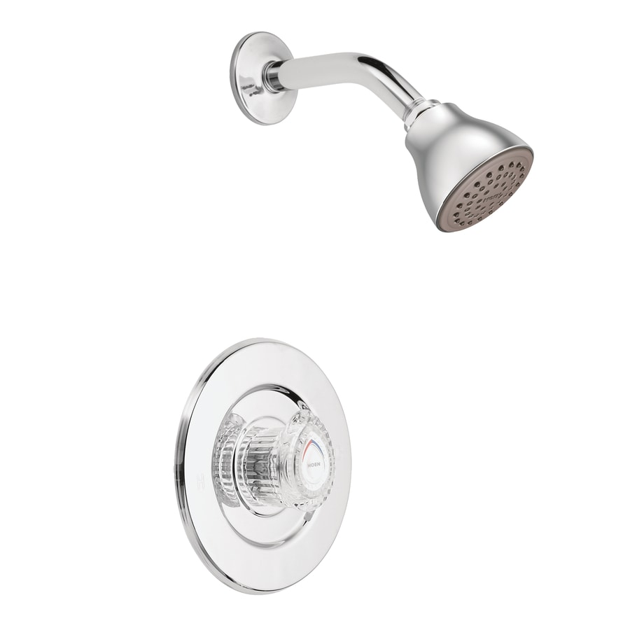 Shop Moen Chateau Chrome 1 Handle Shower Faucet With