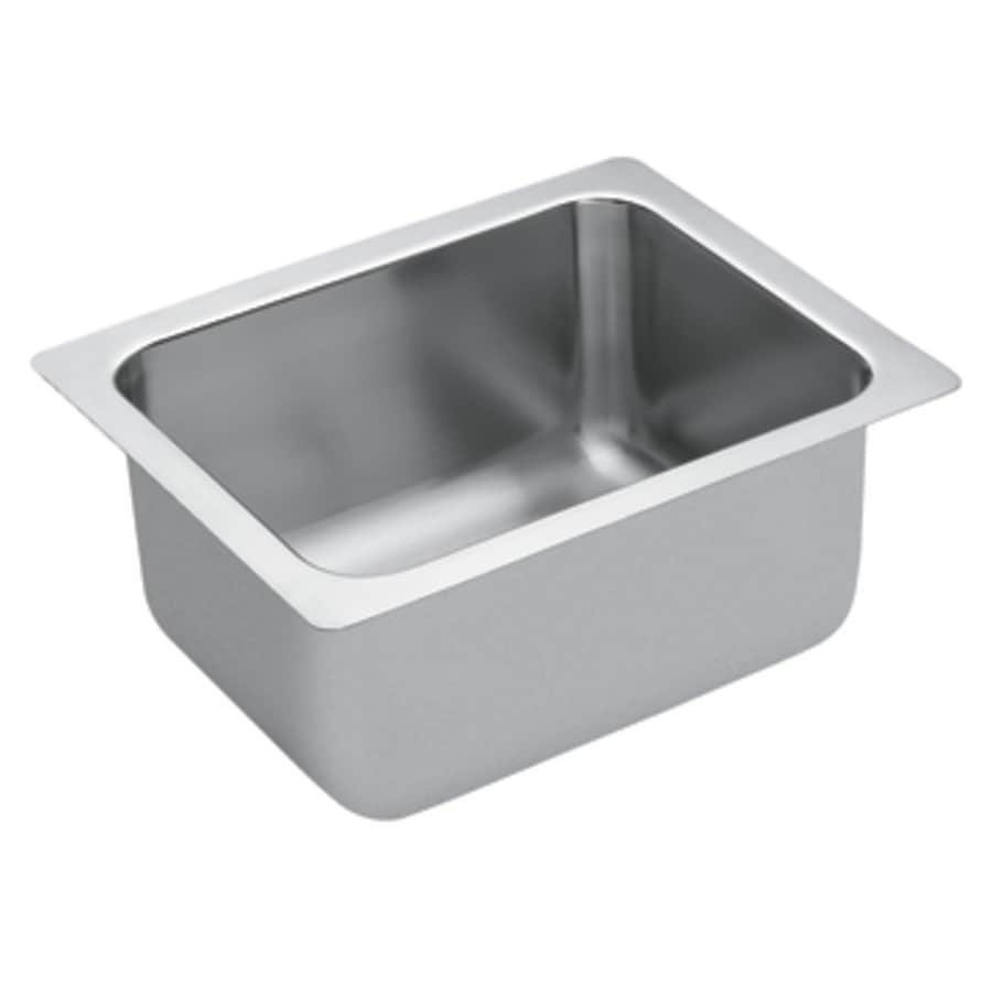 ... Commercial Single-Basin Stainless Steel Drop-In Residential Bar Sink