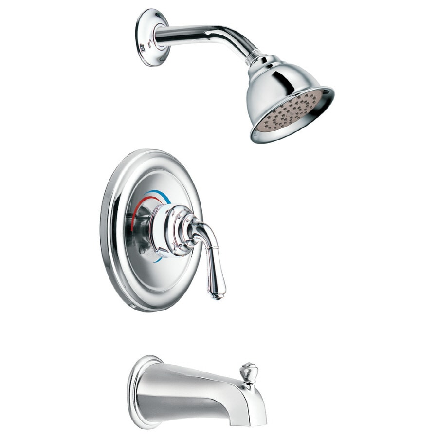 Shop Moen Chrome Tub Shower Trim Kit At Lowes Com