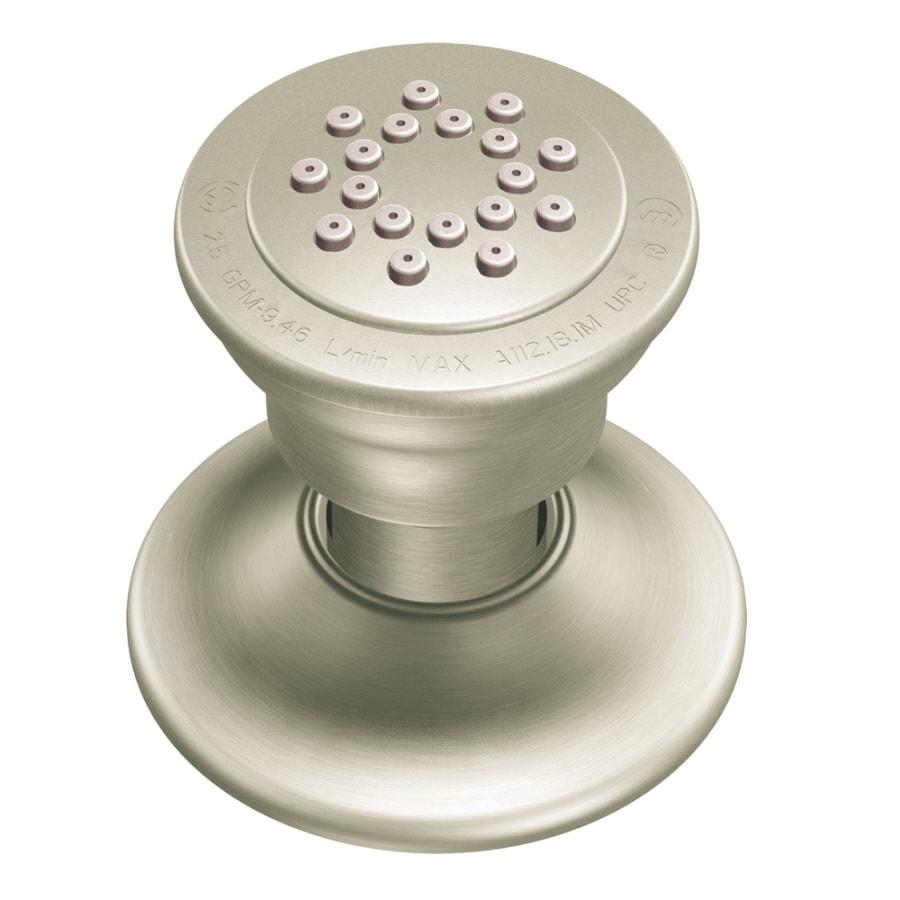 Moen 2-in 1.75-GPM (6.6-LPM) Brushed Nickel 1-Spray Showerhead