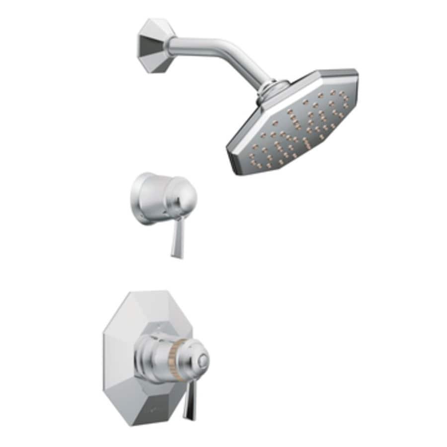 Shop Moen Felicity Chrome 1 Handle Shower Faucet With