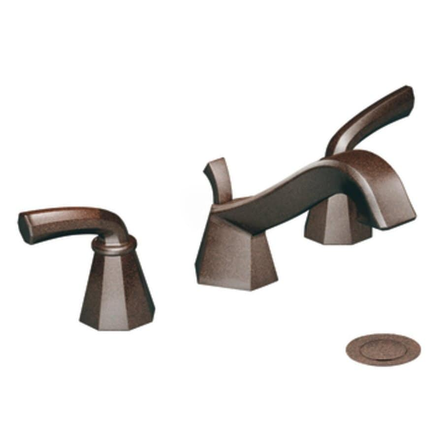 Shop Moen Felicity Oil Rubbed Bronze 2 Handle Widespread