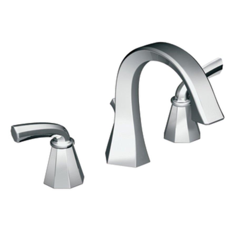 Shop Moen Felicity Chrome 2 Handle Widespread Watersense Bathroom Faucet At