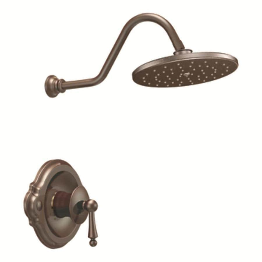 Shop Moen Waterhill Oil Rubbed Bronze 1 Handle Shower