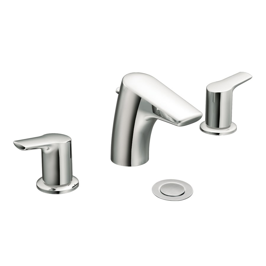 Moen Method Chrome 2-Handle Widespread WaterSense Bathroom Faucet