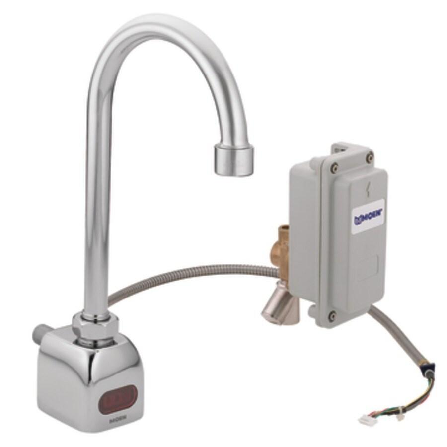 Shop Moen M Power Chrome Touchless Commercial Bathroom Faucet At