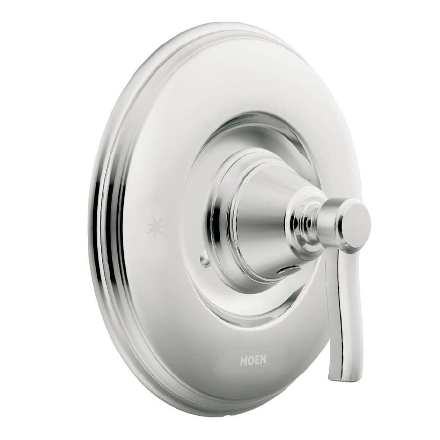 Moen Rothbury Chrome 1-Handle Bathtub and Shower Faucet Trim Kit with Single Function Showerhead